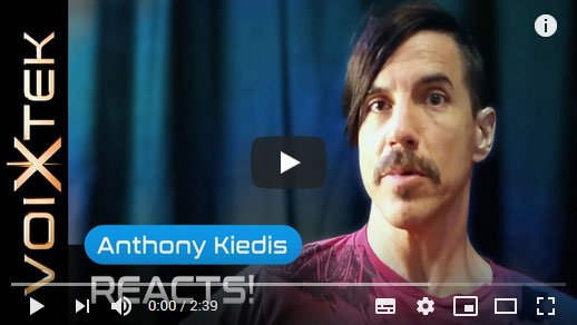 Anthony Kiedis testimonial about working with Ron Anderson to improve his singing