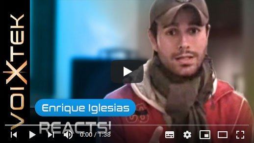 Enrique Iglesias testimonial about working with Ron Anderson to improve his singing