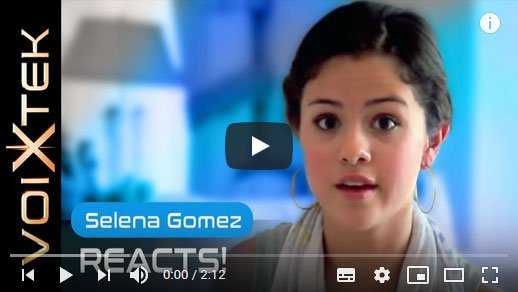 Selena Gomez testimonial about working with Ron Anderson to improve his singing