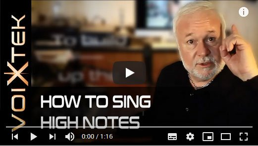 How to Sing High Notes, Vocal Tip- Voice Training by Ron Anderson